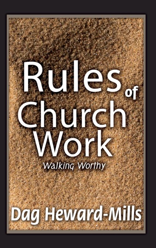 rules of church work